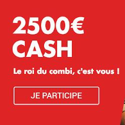 2500 euros à gagner avec le tournoi Combi du bookmaker Circus