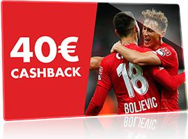 40 € de Cashback pour la Croky Cup si prolongations