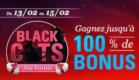 Vendredi 13 et Saint Valentin, 100% de bonus à gagner sur circus.be