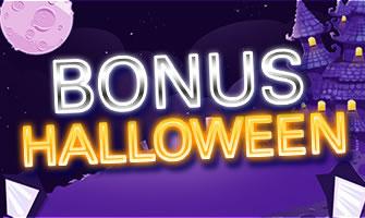 Un bonus de 100% pour Halloween sur Circus.be