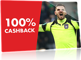 Cashback intégral La Gantoise et Anderlecht