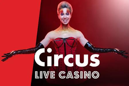 Circus Festival: Lucky Number, Blackjack Boost et Bonus Card sur le Live Casino