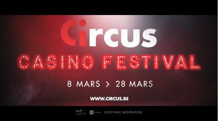 Circus Casino Festival: 3 semaines de tournois, de cadeaux, de coins jackpots et de boosters live