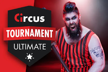 Circus Casino Festival: 4 tournois pour 3 millions de coins