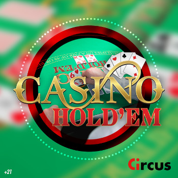 Casino Hold'em Live de Circus.be