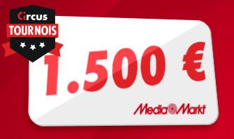 Gagnez un chèque cadeau Mediamarkt et du cash sur Circus.be