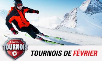 Gagnez un séjour au ski lors des tournois circus.be