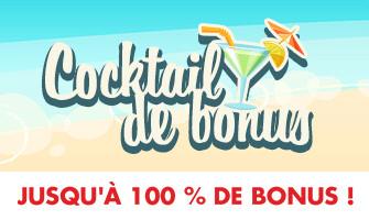 Un bonus d'été de 100% vous attend au casino Circus