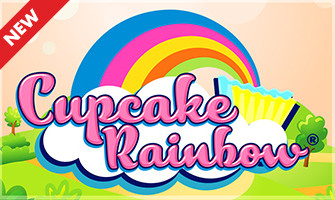 Nouvelle Dice Cascade Cupcake Rainbow sur Circus.be