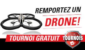 Un PARROT AR.DRONE 2.0 Elite Edition Sand sur Circus.be
