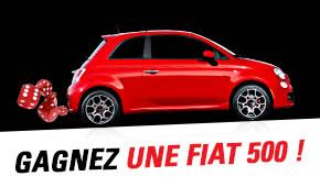 Gagnez une Fiat 500 au Casino Circus