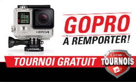 Une GoPro HERO4 à gagner avec le tournoi de Circus Casino