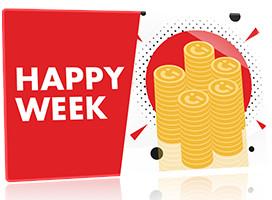 Happy Week: Gagnez deux fois plus de Coins sur Circus