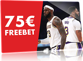 NBA sur Circus.be : 75 € de freebet