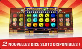 Multi Dice 81 et Treasure Cubes, les nouvelles Dice Slots de Circus