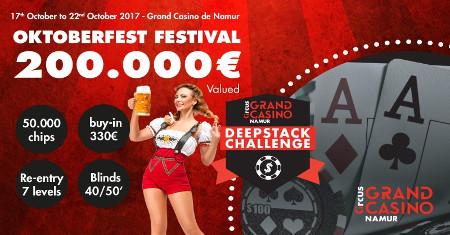 Oktoberfest au Grand Casino de Namur