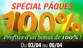 Profitez d'un bonus de 100 % sur Circus.be pour Pâques