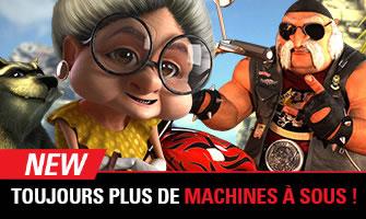 Circus.be propose de nouvelles machines à sous