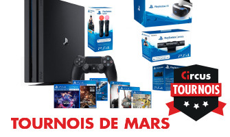 packs PS4 VR à gagner en mars au Casino Circus.be