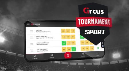Tournoi Luckyday: 50.000 coins à gagner chaque mois avec  Circus