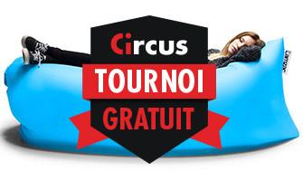 Gagnez un barbecue Weber portable pendant le tournoi gratuit de Circus.be