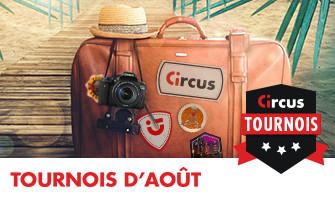 Un Canon ou un caméscope Sony 4K à gagner lors des tournois Circus