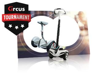 Gagnez un Gyropode avec les tournois de mars 2018 de circus.be