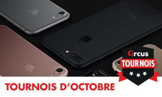 iPhone 7 sur Circus.be