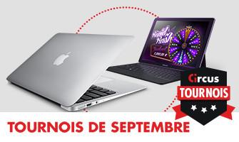 Remportez un MacBook  Air et des Samsung TabPro sur Circus.be