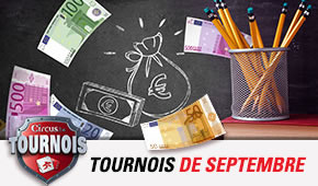 Tournois de septembre sur Circus.be