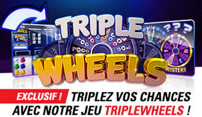 Triple Wheels Dice Game chez Circus