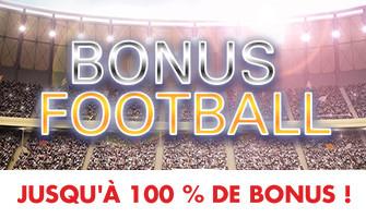 100 % de bonus avec le jeu Euro Foot du casino Circus
