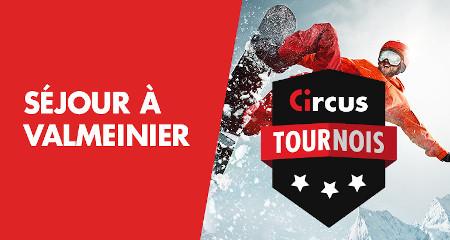 Séjour à Valmeinier : Un séjour au ski à gagner avec les tournois Circus