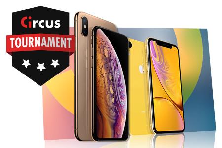 iPhone Xs et iPhone Xr à gagner en octobre au casino Circus