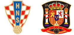 Croatie x Espagne
