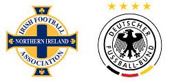 Irlande du Nord x Allemagne