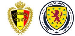 Belgique x Écosse
