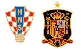 Croatie - Espagne