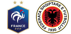 France x Albanie