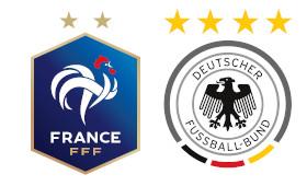 France - Allemagne (Groupe F)