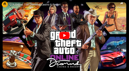 GTA Grand Theft Auto Online Diamond Casino and Resort