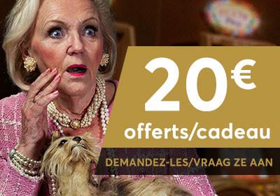 20 € de bonus offerts pour jouer dans les casinos en dur de GoldenPalace