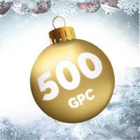 500 Golden Palace Coins à gagner pour les fêtes de fin d'année