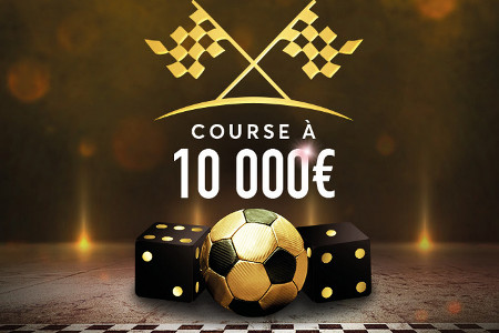 course aux points à 10.000 euros sur Golden Palace