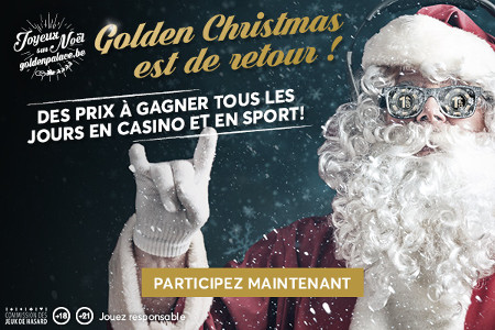 Le Golden Christmas est de retour sur GoldenPalace.be