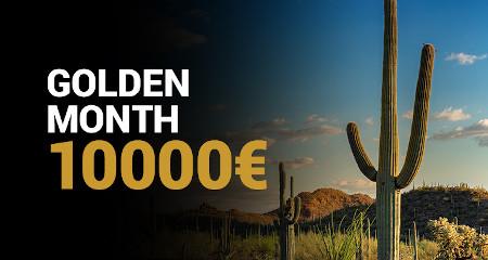 10.000 euros à gagner aux tournois mensuels de Golden Vegas