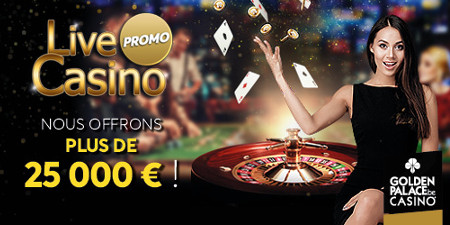 Live Casino Promo de Golden Palace