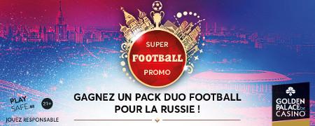 Gagnez un package pour assister à la Coupe du monde en Russie