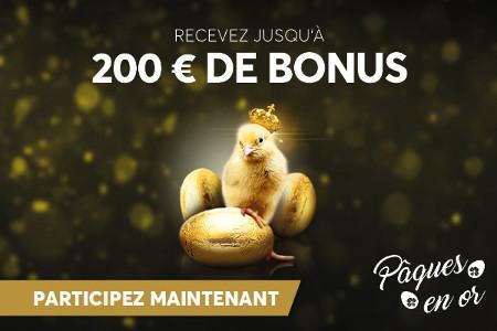 Gagnez des milliers de prix avec la Golden Easter de Golden Palace