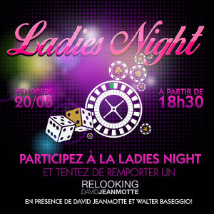 Ladies Night au Golden Palace Pecq le 20 mai 2016